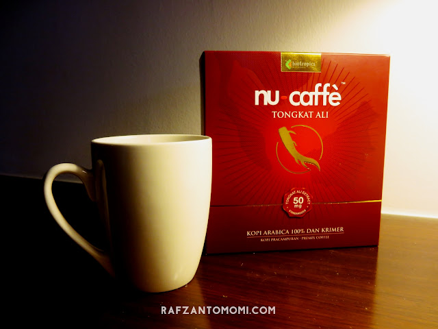 Nu-Caffe Tongkat Ali - 100% Campuran Kopi Arabia Bersama Pati Tongkat Ali