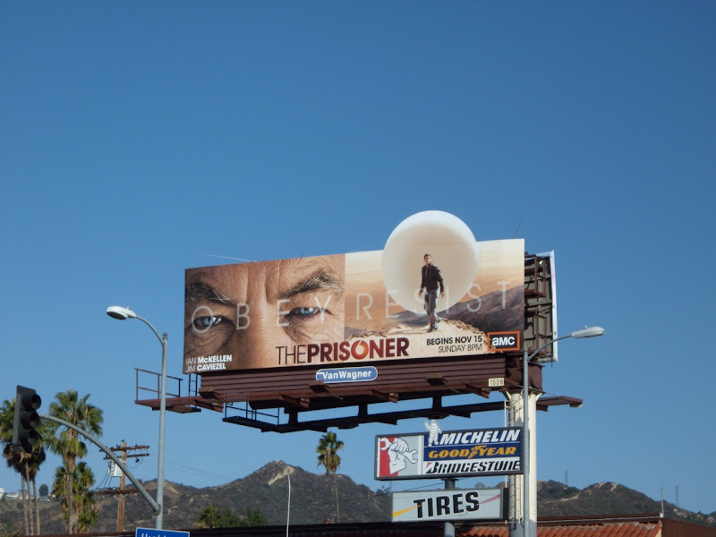 The Prisoner remake billboard