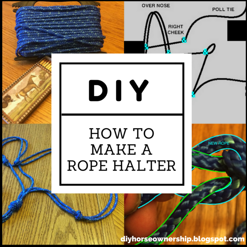 Do It Yourself Home Design: Do It Yourself: How To Make A Rope Halter