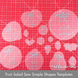 http://www.fatquartershop.com/fruit-salad-sew-simple-shapes-templates