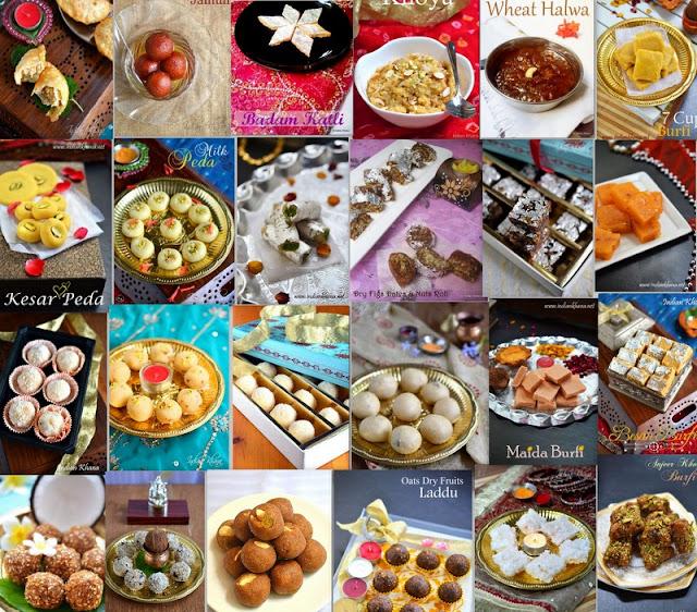 Best Diwali Sweets List