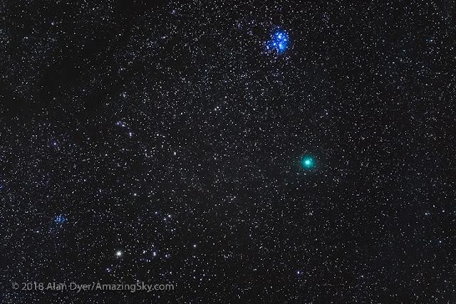 Cometa 46 P Wirtanen