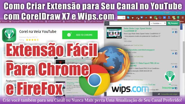 Criando Extensão Chrome e FireFox p/ YouTube