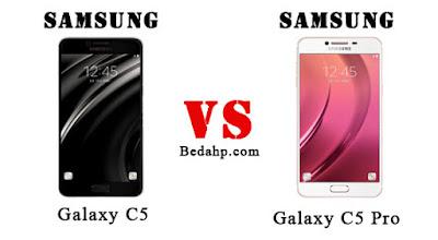 Perbedaan Samsung Galaxy C5 VS C5 Pro
