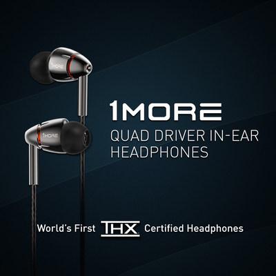 Los auriculares 1MORE son los primeros en obtener la Certificación THX por su calidad, consistencia y desempeño superior en audio