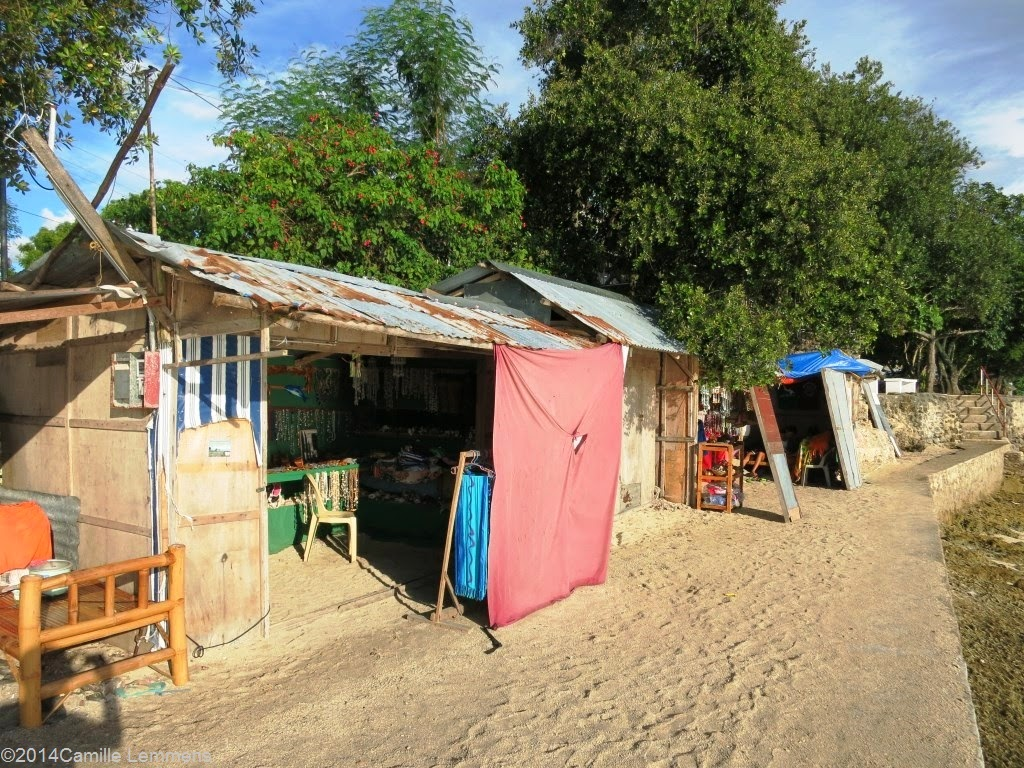 Panagsama Beach, Moalboal, Philippines souvenir shops