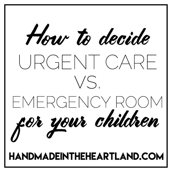how to decide where to go with a sick or injured child.