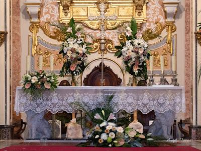 Decoración Iglesia - Decoflor Puzol