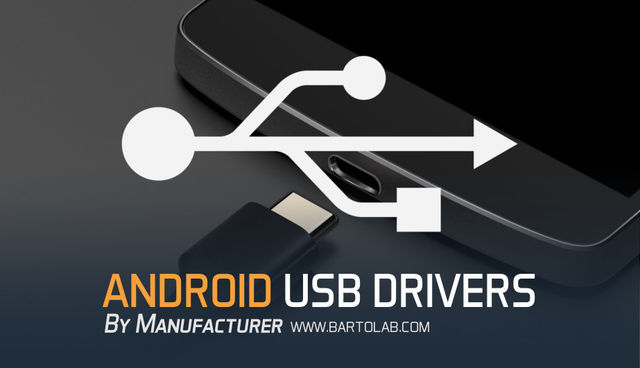 USB Driver For Android Complete List