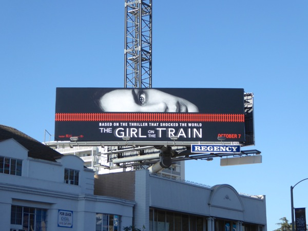 Girl on the Train film billboard