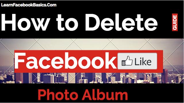 How to Delete Facebook Photo Album