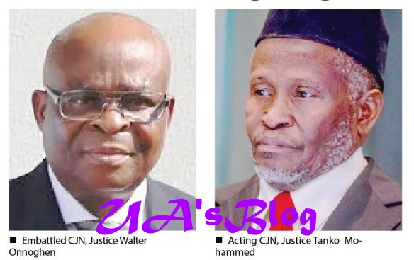 NJC Recommends #Onnoghen For Retirement Says Tanko Muhammad Didn't Commit Any Offence