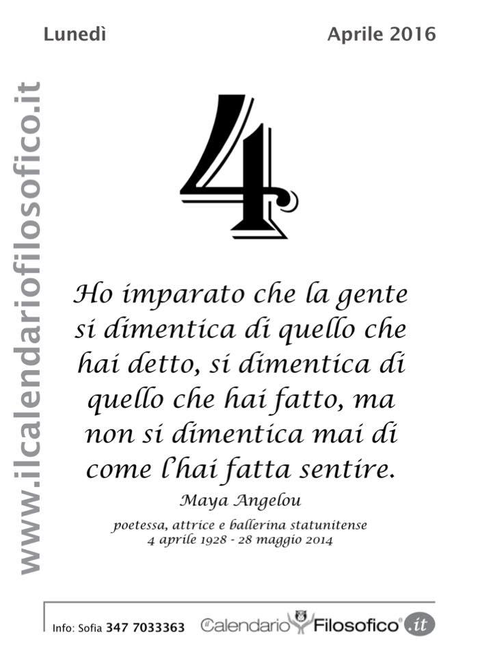 Calendario Filosofico Frase Di Oggi.Eolie News Frase Del Giorno Dal Calendario Filosofico