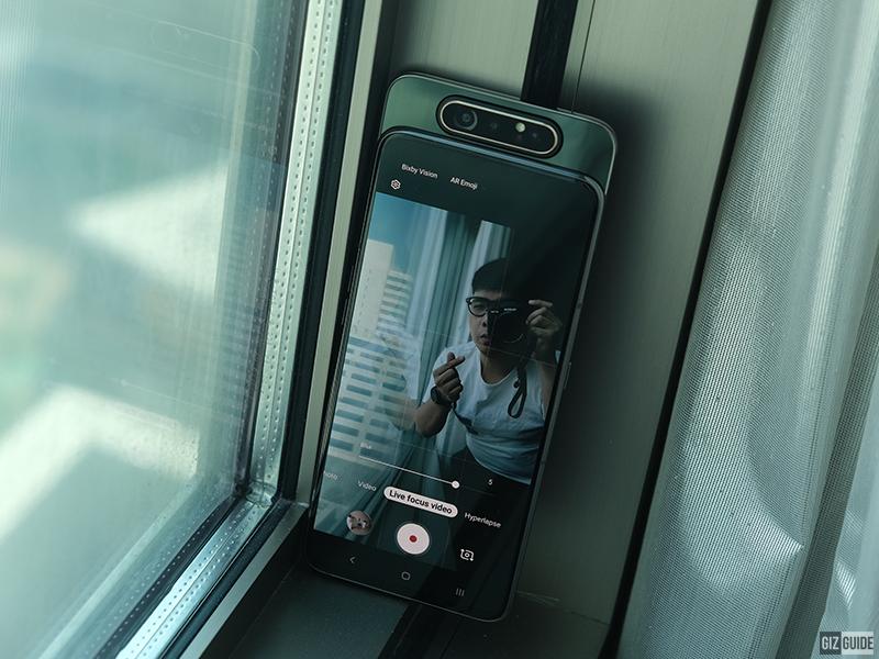 Live Focus Video in selfie mode