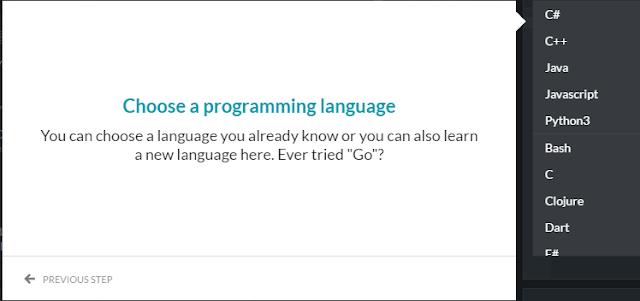 CodinGame Game untuk Programmer