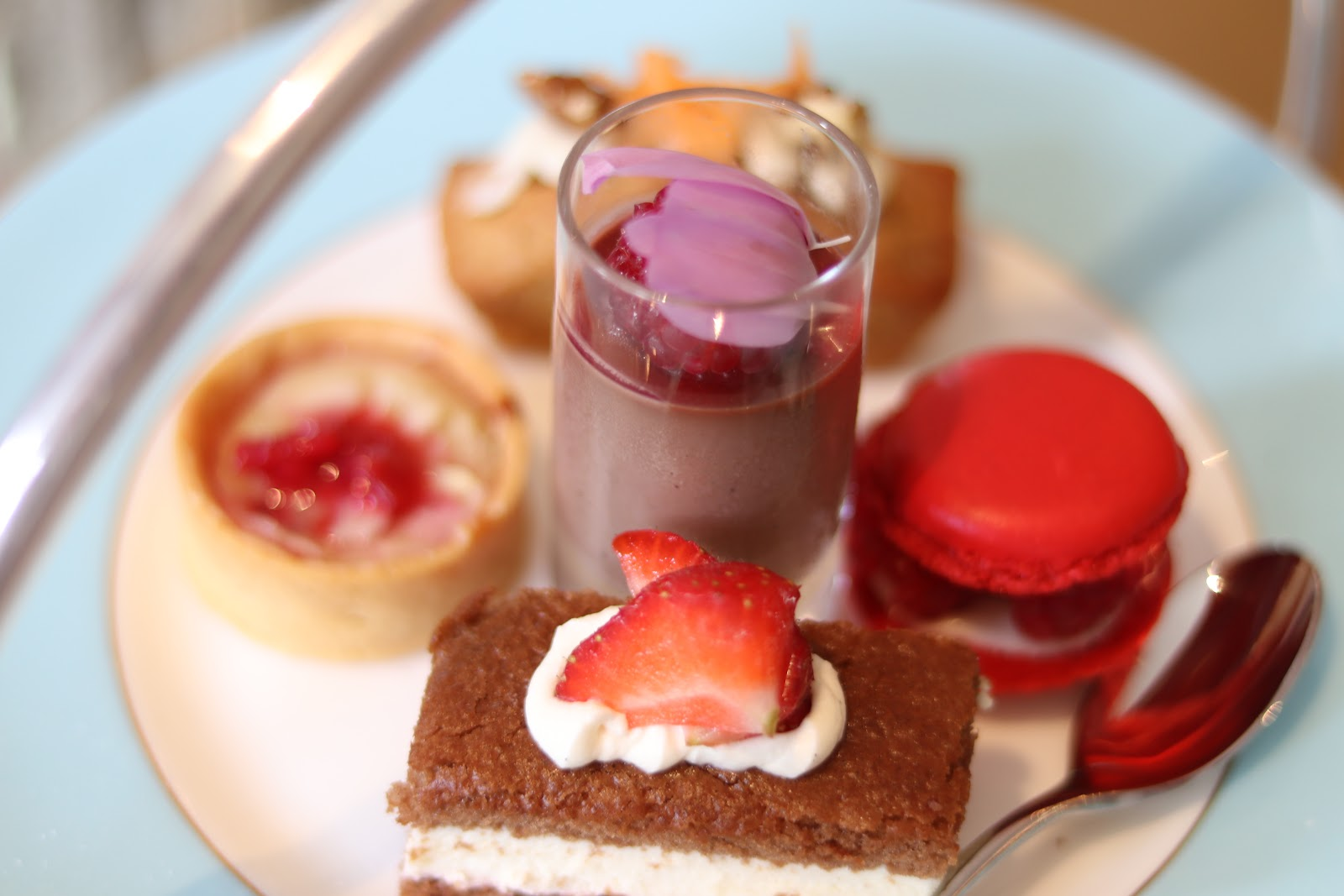 Cakes, Afternoon Tea, The Town House, The Kensington Hotel, Kensington, Chelsea, London