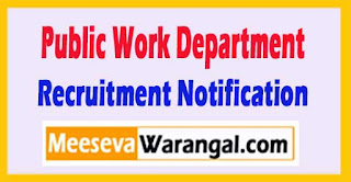 MPPWD (Public Work Department) Recruitment Notification 2017
