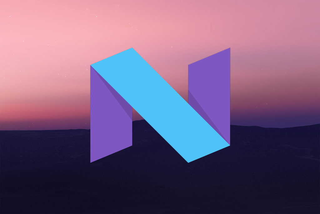 Android Nougat Wallpaper and Logo