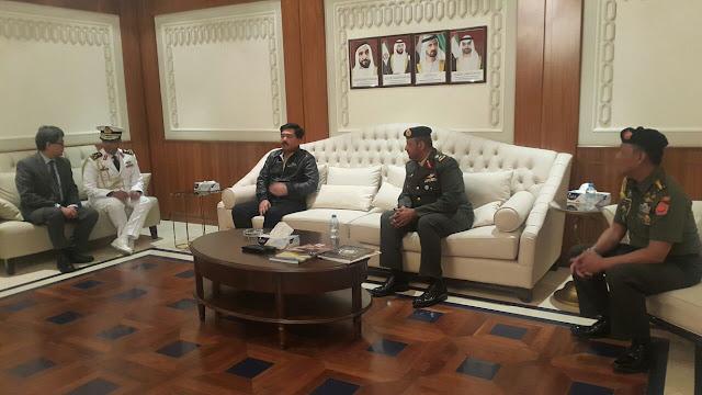 Panglima TNI Kunjungan Kerja ke Abu Dhabi