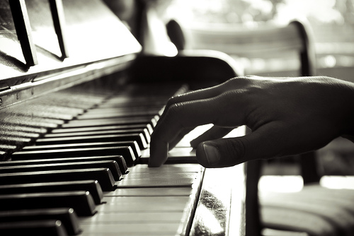 Jovan the Piano Boy plays a classical music composition
