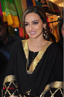 Bollywood Actress Sana Khan Launches Aakrithi Exibition  0111.JPG