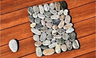 Macam-macam Kerajinan Tangan, Alas Piring (Placemat) Dari Batu 1