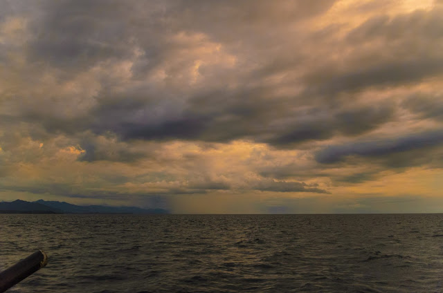 Sta Ana Cagayan Isolated Sea Rain Coastal Dusk