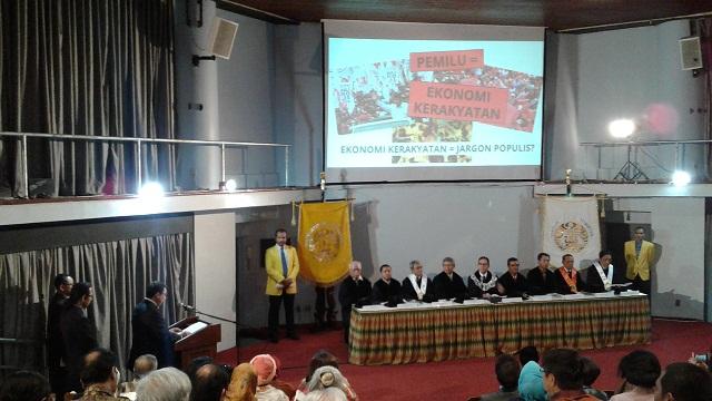 Promosi Doktor Fadli Zon dihadiri Prabowo