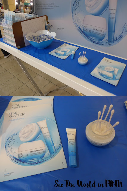 Lise Watier Hydraforce Cream, Hydration Device and App, and Event Review