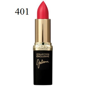 Son môi lì L'Oréal Matte Colour Riche Lipcolour Collection Exclusive 401 Julianne's Red - SM033