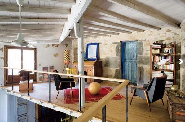 Estudio de interiorismo pilargimeno rehabilitaci n de - Rehabilitacion de casas antiguas ...