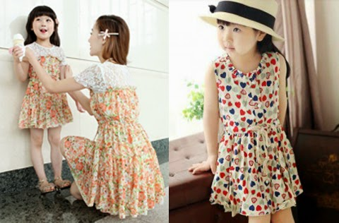 gambar baju anak korea