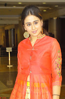 Simrat in Orange Anarkali Dress 08.JPG