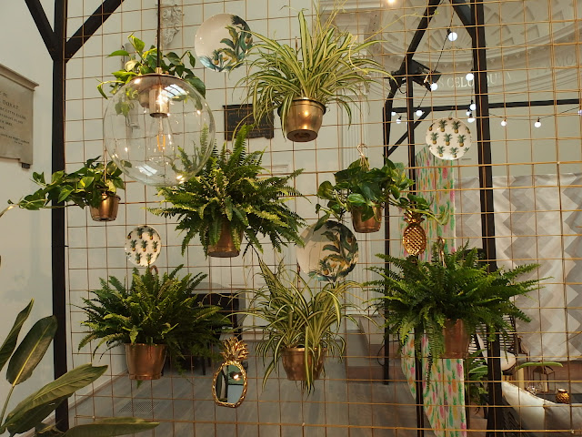 Great idea for an interior green wall