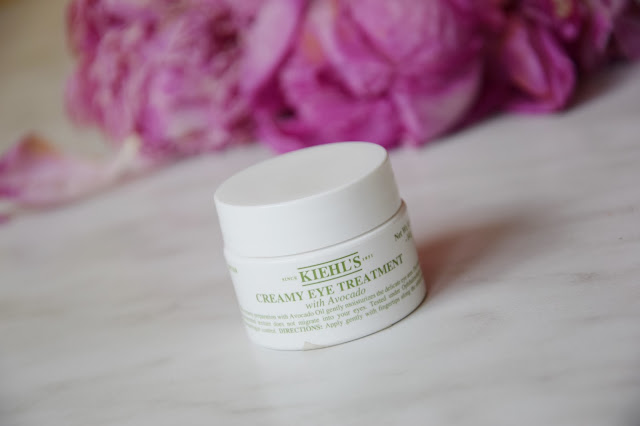 Kiehl's Creame Eye Treatment with Avocado –nawilżenie na poziomie.