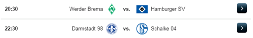 Jadwal Liga Jerman Minggu 16 April 2017