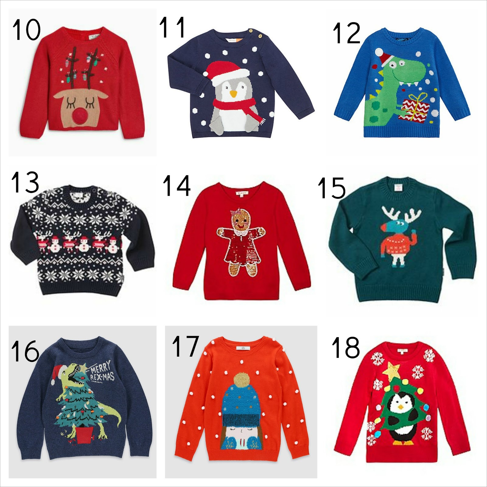 1ea5d6a0 18 best cute Christmas jumpers for kids 2016 | Wave to Mummy