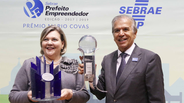 Rio Preto recebe prêmios Sebrae de Prefeito Empreendedor