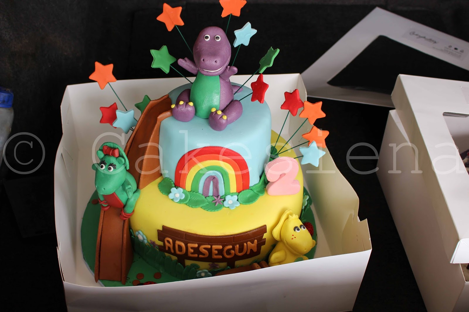And I Guess It Still Hasnt Gone Out Of Style As Barney Is Frequently Requested On Kids Birthday Cakes