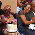Acting President Osibanjo Surprises Wife With Midnight Cake On Her 50th Birthday