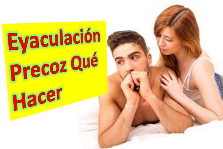 erección de eyaculación precoz