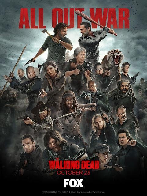 The Walking Dead: il poster della Fox per la premiere della Stagione 8
