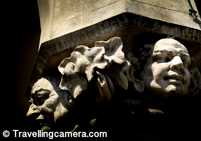 Notice these faces which were carved on the pillars of Renaissance Sukiennice Cloth Hall. I am not sure what the significance is and I wish I had accompanied any guide to know better about the place.