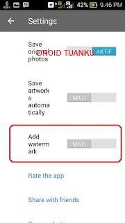 Cara Menghapus Watermark PRISMA di Android