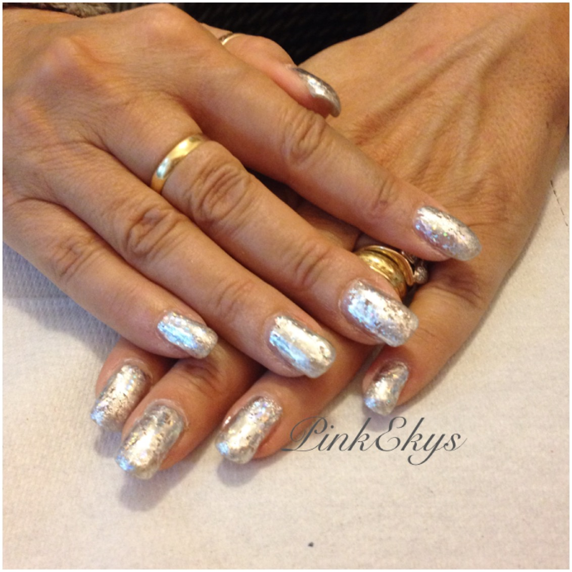 Amato Pinkekys : Unghie in gel: Silver Nails XG33