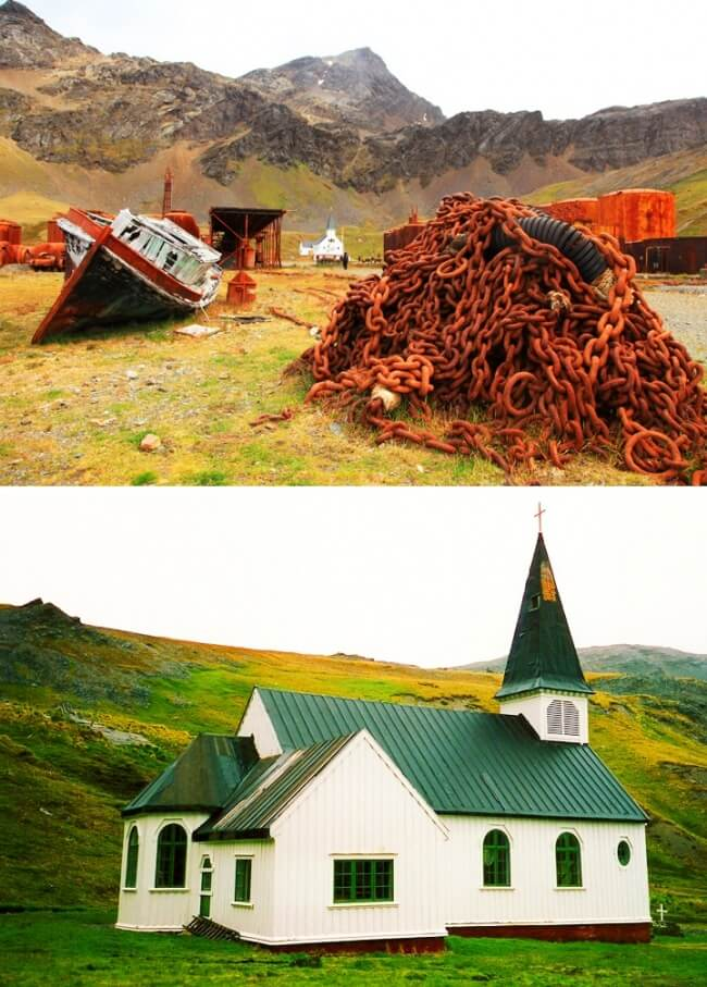 12 Once Booming Places Around The World That Are Now Abandoned And Empty - Grytviken, South Georgia, and the South Sandwich Islands