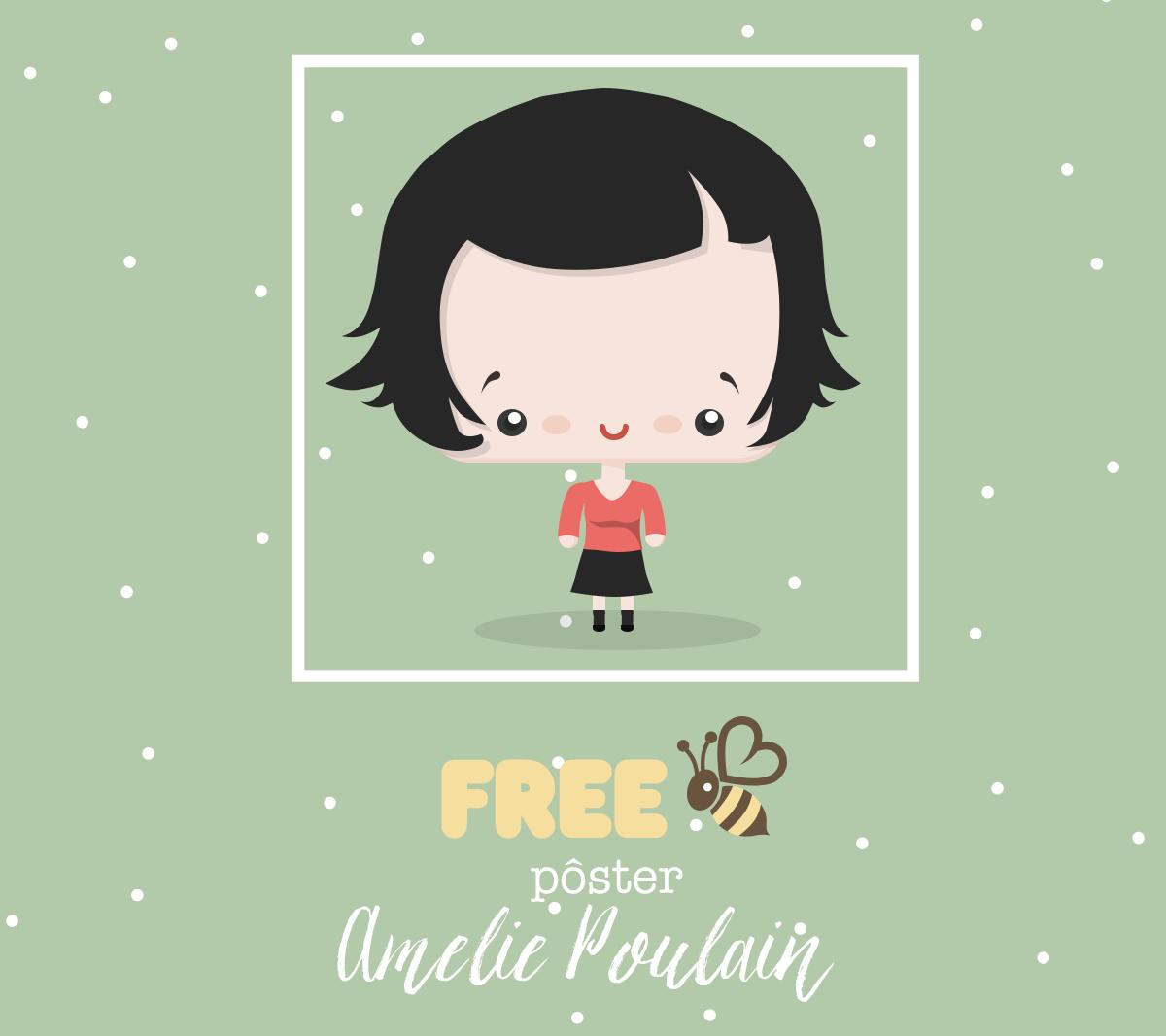 Freebie Poster Amelie Poulain Blog Do Math