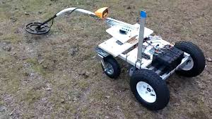 Long Range Spy Robot With Metal Detection