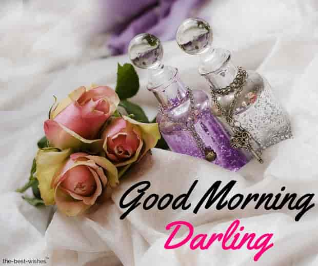 images of good morning darling