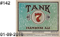 #142 Tank 7 Keg Label